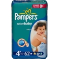 PAMPERS Active baby № 4+ (9-20 кг)