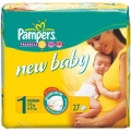 PAMPERS New baby № 1 (2-5 кг)