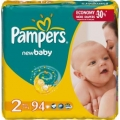PAMPERS New baby № 2 (3-6 кг)